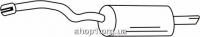 Ferroz 05.083  (05.83)  Задний глушитель AUDI A4   combi sedan  1.9TDi TD  cat  12/00-12/04