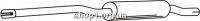Ferroz 06.002  (06.02)  Средний глушитель VOLKSWAGEN CADDY   pick-up  1.5 1.6 1.6D    82-85