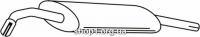 Ferroz 06.012  (06.12)  Глушитель выхлопных газов конечный VOLKSWAGEN GOLF II   hatchback  1.1 1.3 1.3i 1.6 1.6i    85-92