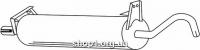 Ferroz 06.019  (06.19)  купить глушитель VOLKSWAGEN TRANSPORTER III     1.6D    80-90