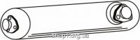 Ferroz 06.030  (06.30)  резонатор выхлопной системы VOLKSWAGEN LT   28, 31, 35, 40, 45, 50  2.4 2.4D    82-