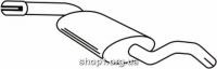 Ferroz 06.047  (06.47)  Средний глушитель VOLKSWAGEN GOLF III   variant  1.8i 1.9D 1.9TD  cat  93-99