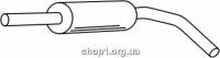 Ferroz 06.076  (06.76)  Труба выхлопной системы VOLKSWAGEN POLO   hatchback  1.0i 1.3i 1.4i 1.6i  cat  94-01