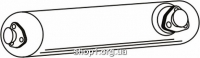 Ferroz 06.080  (06.80)  резонатор выхлопной системы VOLKSWAGEN LT   28 31 35 40 45 50  2.4TD LWB SWB  cat  90-