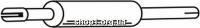 Ferroz 06.085  (06.85)  Передний глушитель SEAT TOLEDO     2.0i  cat  5/91-10/91