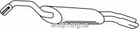 Ferroz 06.095  (06.95)  Глушитель выхлопных газов конечный VOLKSWAGEN GOLF II   hatchback  1.8GTi    89-91