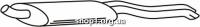 Ferroz 06.099  (06.99)  Глушитель VOLKSWAGEN VENTO     1.9SDi 1.9TDi  cat  94-98