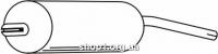 Ferroz 06.118 глушитель на  VOLKSWAGEN GOLF I   hatchback cabrio  1.6GTi 1.6GLi    77-82