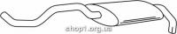 Ferroz 06.121 Задний глушитель VOLKSWAGEN POLO   hatchback  1.9D    94-01