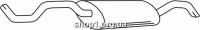Ferroz 06.124 Глушитель выхлопных газов конечный SEAT CORDOBA   sedan  1.4i  cat  99-