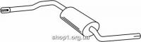 Ferroz 06.141 Средний глушитель VOLKSWAGEN TRANSPORTER IV   SWB LWB Pick-up Van  1.9TD  cat  92-95