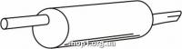 Ferroz 06.146 Глушитель задняя часть VOLKSWAGEN PASSAT   sedan variant  1.6i 1.8i 20V  cat  96-