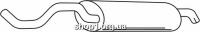 Ferroz 06.159 глушители для SEAT LEON     1.4i 16V  cat  99-00