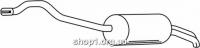 Ferroz 06.182 глушители VOLKSWAGEN TRANSPORTER IV   SWB Pick-up  2.5TDi 2.5TDi (7dz)  cat  96-03