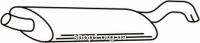 Ferroz 06.198 задняя часть глушитель VOLKSWAGEN GOLF III   hatchback  1.9D  cat  8/93-12/97