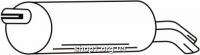Ferroz 06.214 глушители для автомобилей FORD GALAXY     1.9TDi  cat  94-95