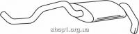 Ferroz 06.235 Задний глушитель VOLKSWAGEN POLO   hatch  1.4i 16V (74kW)  cat  4/96-10/01
