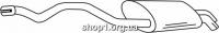 Ferroz 06.258 задняя часть глушитель VOLKSWAGEN TRANSPORTER V     1.9TDi TD + DPF  cat  04/03-11/09