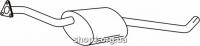 Ferroz 07.020  (07.20)  Средний глушитель OPEL OMEGA A   sedan  1.8 1.8i 2.0i 2.4i 2.3D  cat  86-94