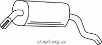 Ferroz 07.021  (07.21)  глушители для OPEL OMEGA A   sedan  1.8 1.8i 2.0i 2.4i 2.3D  cat  86-94