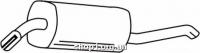 Ferroz 07.022  (07.22)  глушители для автомобилей OPEL OMEGA A   combi  1.8 1.8i 2.0i 2.4i 2.3D  cat  86-94