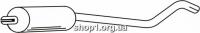 Ferroz 07.027  (07.27)  средняя часть глушитель OPEL CORSA A   hatchback sedan  1.0S 1.2N 1.2S 1.3N 1.3S 1.4S 1.5D    83-93