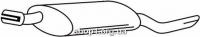 Ferroz 07.028  (07.28)  Задний глушитель OPEL CORSA A   hatchback  1.0S 1.2N 1.2S 1.2i 1.4S 1.4i 1.5D  cat  90-93