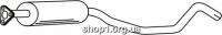 Ferroz 07.030  (07.30)  резонатор глушителя OPEL CALIBRA   4x4  2.0i 16V  cat  90-92