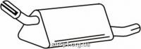 Ferroz 07.034  (07.34)  задняя часть глушитель OPEL CORSA B   hatchback  1.2i 1.2i 16V 1.4i 1.5D 1.5TD 1.7D  cat  93-00