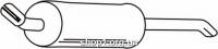 Ferroz 07.040  (07.40)  Глушитель задняя часть OPEL REKORD E   sedan  1.8N 1.8S 1.8i 1.9N 2.0N 2.0S    77-86