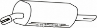 Ferroz 07.067  (07.67)  Задний глушитель OPEL OMEGA B   sedan  2.0i 8V 16V  cat  94-00