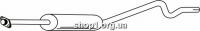 Ferroz 07.075  (07.75)  Труба выхлопной системы OPEL ASTRA I   hatchback  1.7D    91-92