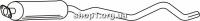 Ferroz 07.098  (07.98)  резонатор глушителя OPEL KADETT E   combi  1.7D    89-91