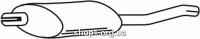 Ferroz 07.100 задняя часть глушитель OPEL KADETT D   combi  1.6D    82-84