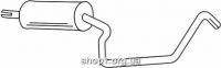 Ferroz 07.104 резонатор глушителя OPEL KADETT E     1.3Combo 1.4Combo 1.6Combo    85-91