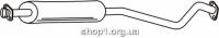 Ferroz 07.106 Средний глушитель OPEL VECTRA B   combi sedan hatch  1.6i 16V  cat  95-00