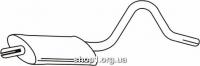 Ferroz 07.113 резонатор выхлопной системы OPEL ASCONA B     1.2N 1.2S 1.3N 1.3S 1.6N 1.6S 1.9N    75-81