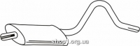 Ferroz 07.114 резонатор выхлопной системы OPEL ASCONA B     1.9S 1.9SR 2.0N 2.0S 2.0SR 2.0E    75-81