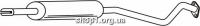 Ferroz 07.129 Средний глушитель OPEL ASTRA II   hatch sedan combi  1.4i 16V 1.6i 8V 1.6i 16V  cat  98-