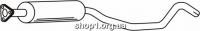 Ferroz 07.131 Средний глушитель OPEL VECTRA A   hatchback sedan  2.0i 16V 2.5i V6  cat  88-95