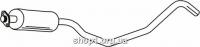 Ferroz 07.145 средняя часть глушитель OPEL KADETT E   combo  1.7D    92-2/93
