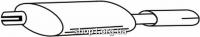 Ferroz 07.150 глушители для OPEL ASTRA I   sedan cabrio  1.8i 16V  cat  93-98