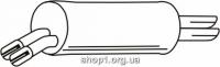Ferroz 07.158 Глушитель выхлопных газов конечный OPEL OMEGA B   sedan  3.0i MV6 24V  cat  94-01