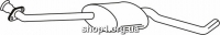 Ferroz 07.160 Глушитель средняя часть OPEL OMEGA B   sedan  2.5i V6 3.0i MV6 24V  cat  94-01