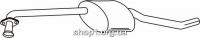 Ferroz 07.164 Средний глушитель OPEL OMEGA B   combi  2.5i V6 3.0i MV6 24V  cat  94-01