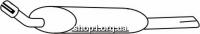 Ferroz 07.169 Глушитель задняя часть OPEL VECTRA A   sedan  2.0i 16V 2.5i V6  cat  88-95