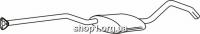 Ferroz 07.172 Средний глушитель OPEL CALIBRA     2.0i 2.0i 16V  cat  90-97