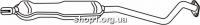 Ferroz 07.189 Глушитель средняя часть OPEL ASTRA II   hatch sedan combi  2.0Di TD 2.0DTi  cat  98-