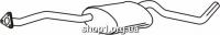 Ferroz 07.203 резонатор глушителя OPEL OMEGA A   sedan  2.6i 3.0i 12V 3.0i 24V  cat  86-94