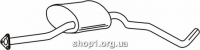 Ferroz 07.204 Средний глушитель OPEL OMEGA A   sedan  3.0i 12V    86-90